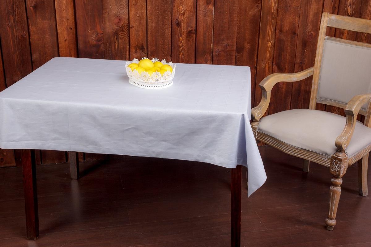 Скатерть Гаврилов-Ямский Лен, прямоугольная, 140 x 250 см. 1со5040-1CLP446Жаккардовая скатерть из льна и хлопка, отделанная зашаркой - придаст праздничный вид любому столу!Лён - поистине, уникальный природный материал, экологичнее которого сложно придумать. История льна восходит к Древнему Египту: в те времена одежда из льна считалась достойной фараонов! На Руси лён возделывали с незапамятных времен - изделия из льняной ткани считались показателем достатка, а льняная одежда служила символом невинности и нравственной частоты. Изделия из льна обладают уникальными потребительскими свойствами: льняное постельное белье даст вам ощущение прохлады в жаркую ночь и согреет в холода, скатерти из натурального льна придадут вашему дому уют и тепло натурального материала, а льняные полотенца порадуют вас невероятно долгим сроком службы на вашей кухне!