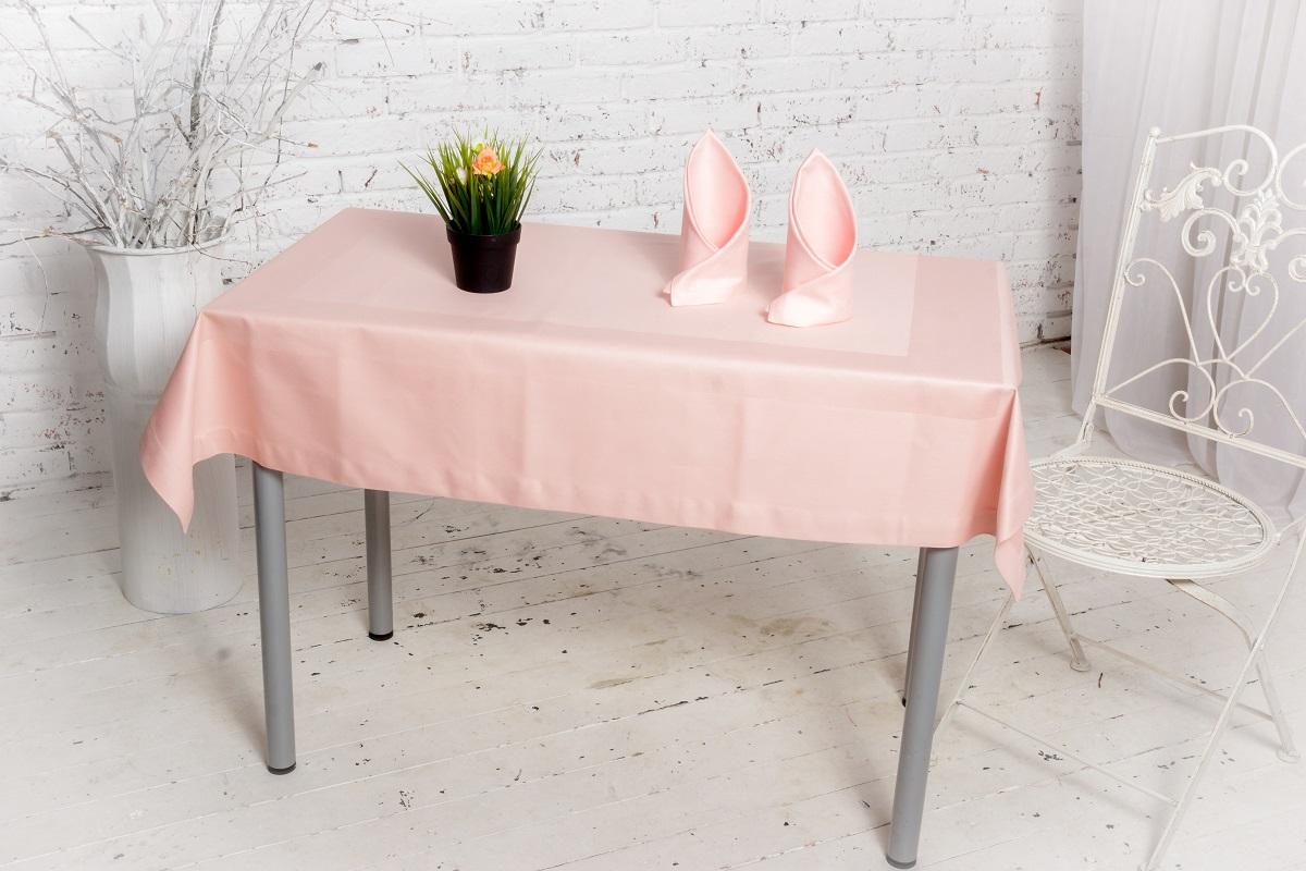 Комплект столового белья Гаврилов-Ямский Лен: скатерть, 4 салфетки, 135x140 см, 42x42 см. 1со5352-2VT-1520(SR)Подарочный комплект столового белья на стол небольшого размера из хлопка высокой плотности. Жаккардовая выделка по периметру.