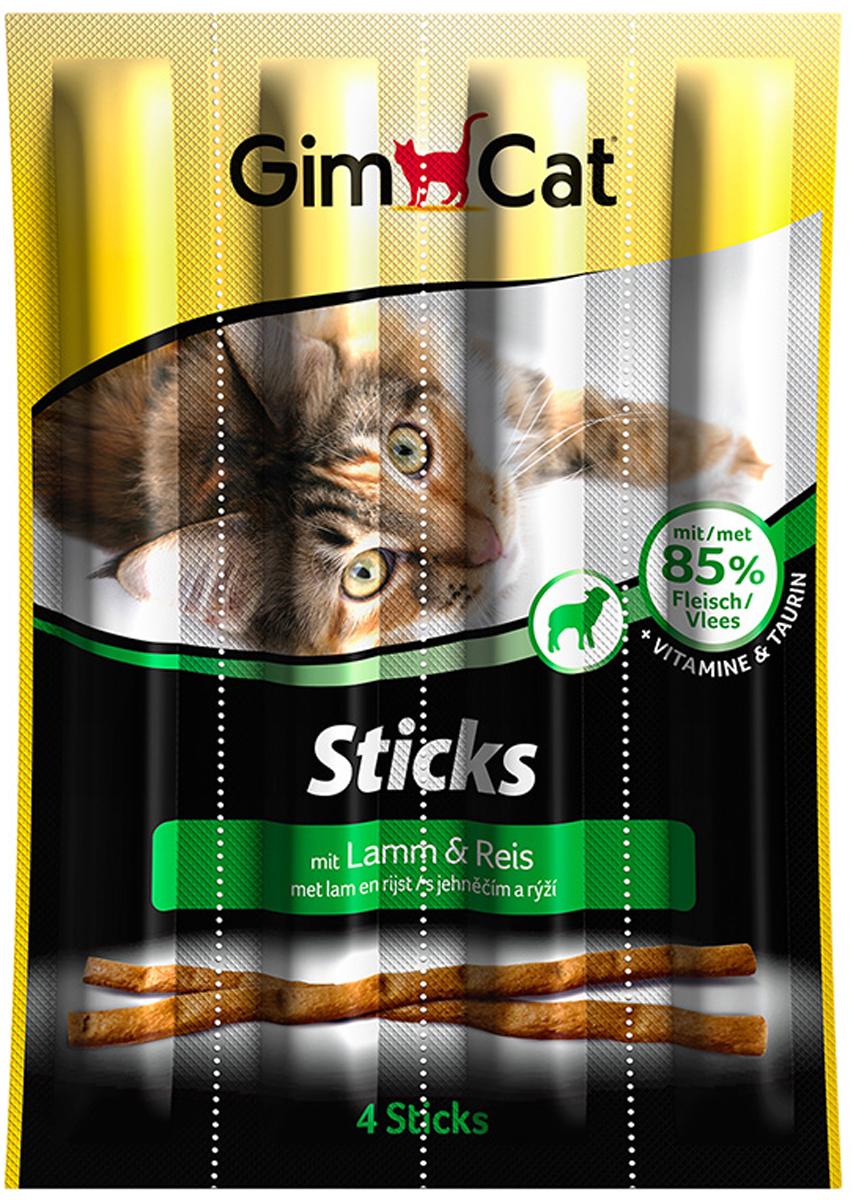 Лакомство для кошек Gimcat, палочки с ягненком и рисом, 4 шт12272392Лакомство для кошек Gimcat порадует своим уникальным вкусом даже самую избалованную кошку. Лакомые палочки с ягненком и рисом поддерживают здоровый процесс роста вашей кошки и способствуют ее великолепному самочувствию.Состав: мясо ягненка, рис.Аналитический состав: белки - 34%, жиры - 20%, клетчатка - 2%, зола - 5,5%, влажность - 27%.Добавки на 1 кг: витамин D3 - 500 мг, витамин E - 5 мг, таурин - 1 мг. С антиоксидантами и консервантами.Товар сертифицирован.