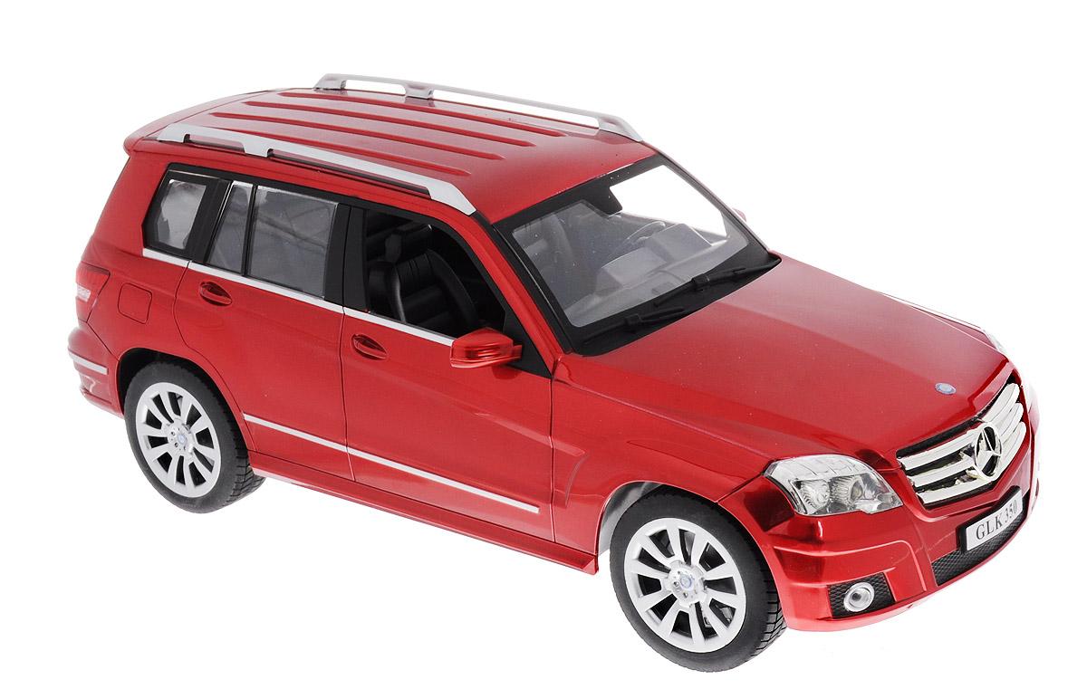 """Радиоуправляемая модель Double Eagle """"Mercedes-Benz GLK-Class"""" станет любимой игрушкой вашего малыша. Это точная копия настоящего авто в масштабе 1:14. Юные гонщики оценят эту машину за прекрасные технические характеристики и полную свободу передвижений в любую сторону. Моделью легко управлять и любая гонка принесет удовольствие. Управление машинкой происходит с помощью удобного пульта. Автомобиль двигается вперед и назад, поворачивает направо, налево и останавливается. Имеются световые и звуковые эффекты. Колеса игрушки прорезинены и обеспечивают плавный ход, машинка не портит напольное покрытие. Пульт управления работает на частоте 27 MHz и выполняет функции игрового руля. На руле имеется коробка передач, с его помощью издаются звуки ускорения и торможения, клаксона, звуки старта и заднего хода. Радиоуправляемые игрушки способствуют развитию координации движений, моторики и ловкости. Ваш ребенок увлеченно будет играть с моделью, придумывая различные истории и устраивая..."""