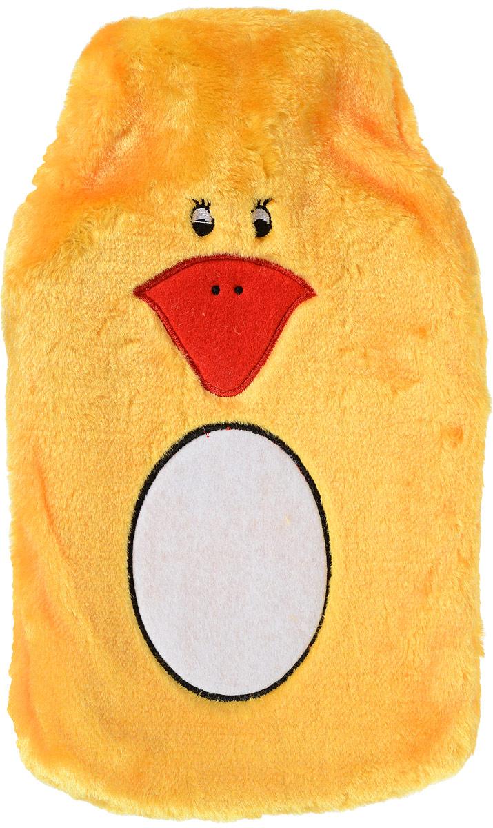 Medrull Грелка резиновая Цыпленок №2, 2000 мл0001517ГРЕЛКА РЕЗИНОВАЯ в чехле цыпленок. Сoстав резина. Вместимость в литрах 2л.