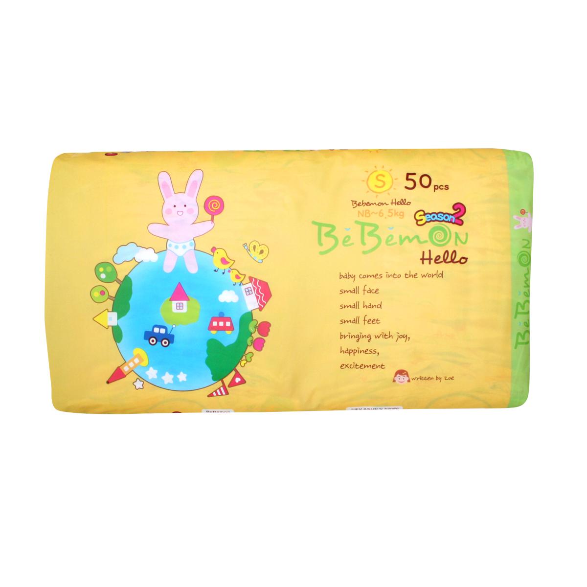 BebemonПодгузники детские Band 0-6 кг размер S 50 шт Younglim B&A Co., Ltd