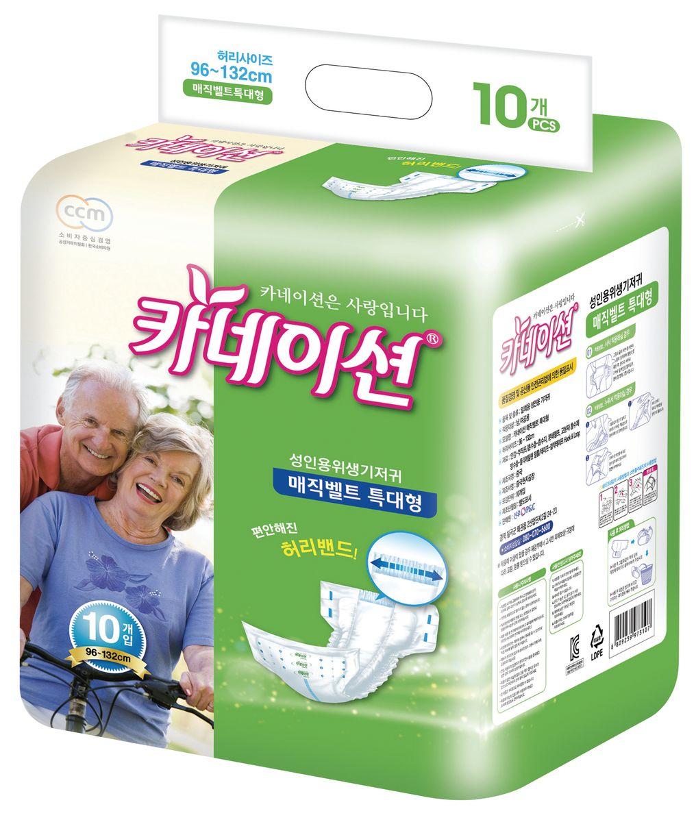 Carnation Подгузники для взрослых L 10 шт5010777139655Подгузники для взрослых Carnation оснащены липучками, что упрощает надевание. Такие подгузники подойдут для взрослых с недержанием или для ухода за лежачими больными. Обхват талии: от 96 до 132 см. Продукция Carnation производится для внутреннего рынка Южной Кореи и соответствует предъявляемым высоким стандартам качества Республики Корея.