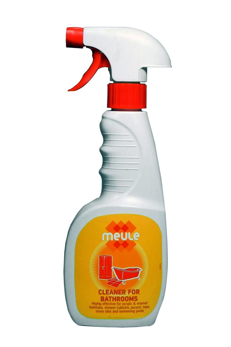Средство чистящее для ванны Meule, 450 мл7290104930881Meule Anti Calk for Acrylic Bathtubs - это чистящее средство для акриловых и эмалированных ванн, джакузи, душевых кабин, кранов, кафеля и бассейнов. Оно мгновенно очищает поверхности от известкового налёта, ржавчины, плесени, грибка, мыльных пятен.Эффективно против застарелых пятен.Полирует все виды поверхностей.Придаёт блеск на долгое время.