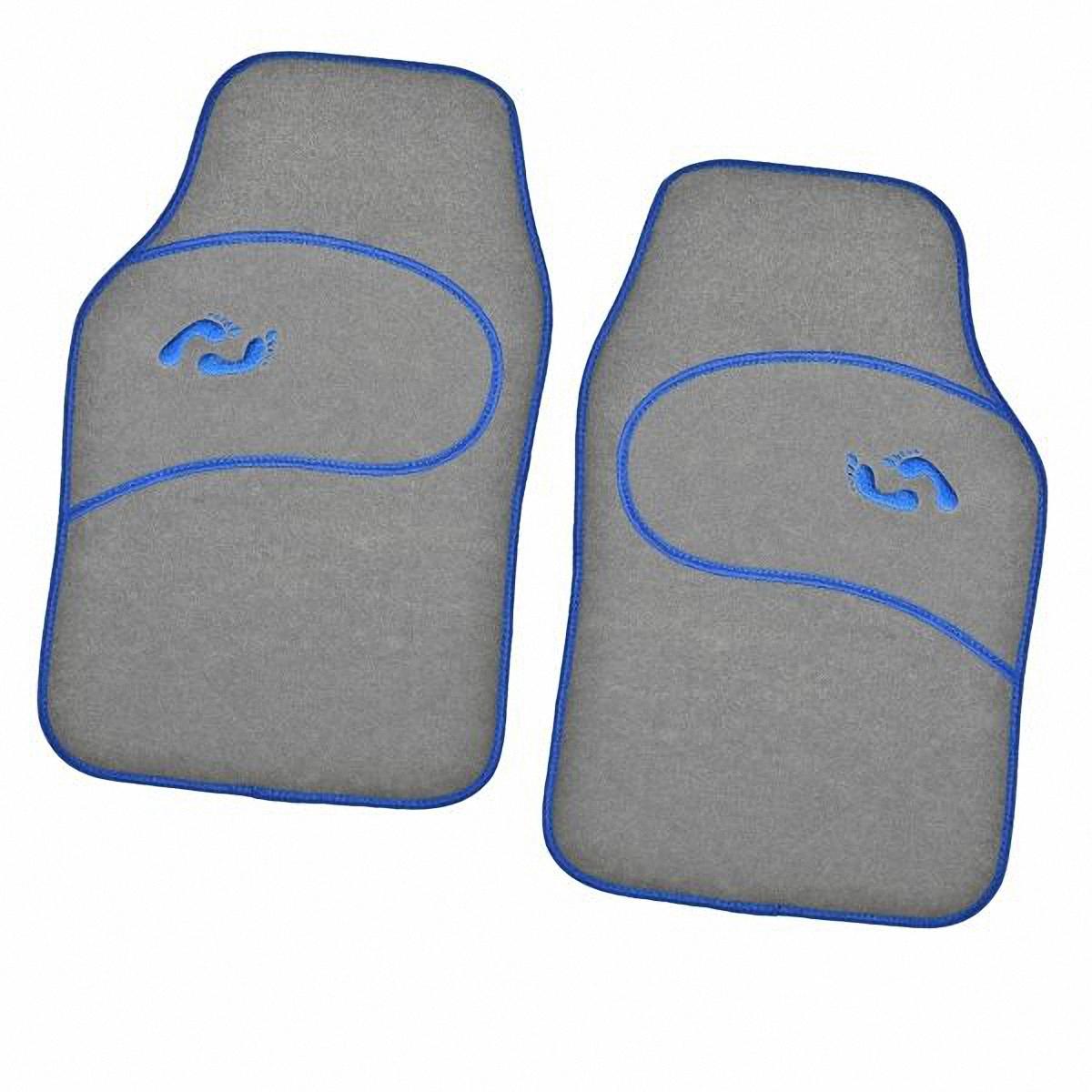 Коврик в салон автомобиля Skyway, передний, цвет: серый, 66 х 44 см, 2 штDH2400D/ORКомплект универсальных передних ковриков салона сохраняет эластичность даже при экстремально низких и высоких температурах (от -50°С до +50°С). Обладает повышенной устойчивостью к износу и агрессивным средам, таким как антигололёдные реагенты, масло и топливо. Усовершенствованная конструкция изделия обеспечивает плотное прилегание и надёжную фиксацию коврика на полу автомобиля.Размер: 66 х 44 см.Комплектация: 2 шт.