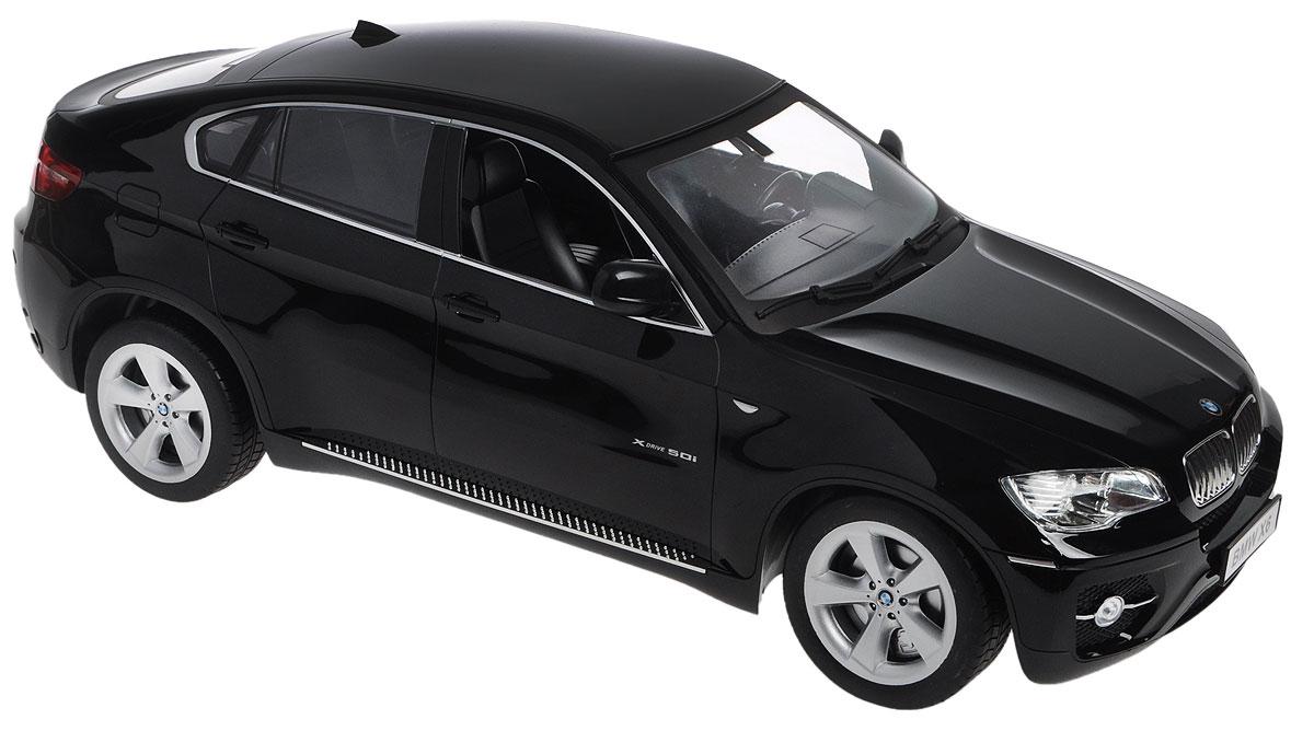 """Радиоуправляемая модель Double Eagle """"BMW X6"""" станет отличным подарком любому мальчику! Все дети хотят иметь в наборе своих игрушек ослепительные, невероятные и крутые автомобили на радиоуправлении. Тем более, если это автомобиль известной марки с проработкой всех деталей, удивляющий приятным качеством и видом. Одной из таких моделей является автомобиль на радиоуправлении Double Eagle """"BMW X6"""". Это точная копия настоящего авто в масштабе 1:10. Возможные движения: вперед, назад, вправо, влево, остановка. При включении раздается звук запуска двигателя. Имеются световые эффекты. Пульт управления работает на частоте 27 MHz. С помощью пульта можно регулировать скорость модели (имитация коробки передач). Машина работает от сменного аккумулятора 7,2V (в комплекте). Для работы пульта управления необходимы 2 батарейки типа АА напряжением 1,5V (не входят в комплект)."""