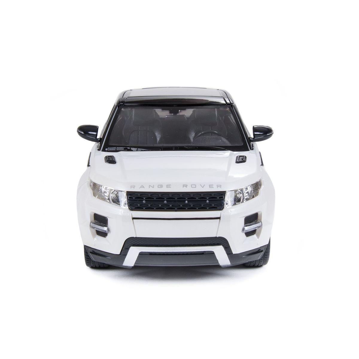 Данная модель, это точная копия машины Range Rover Evoque с высокой точностью детализации. Для большей копийности в модели предусмотрен детализированный салон, а так же при движении загораются все фары.
