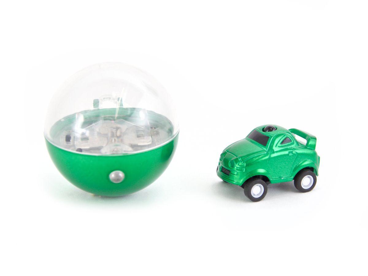 Микро машинка на ИК управлении в прозрачном шаре в виде елочной игрушки неподдельно восхищает своими габаритами, достаточно высокой скоростью и маневренностью. Азарт гонок на этих микро машинках захватывает не только детей, но и взрослых мужчин.