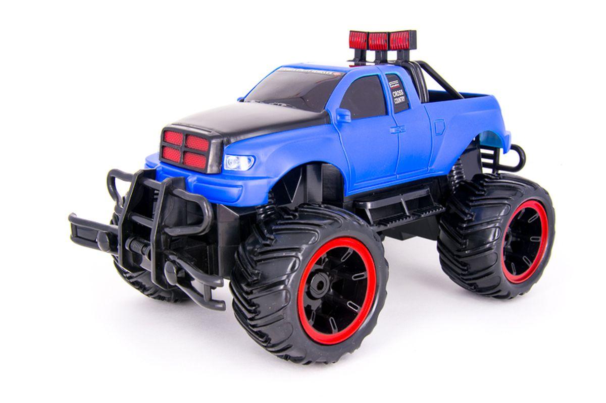 Pilotage Машина на радиоуправлении Внедорожник Off-Road Race Truck цвет синий масштаб 1/16