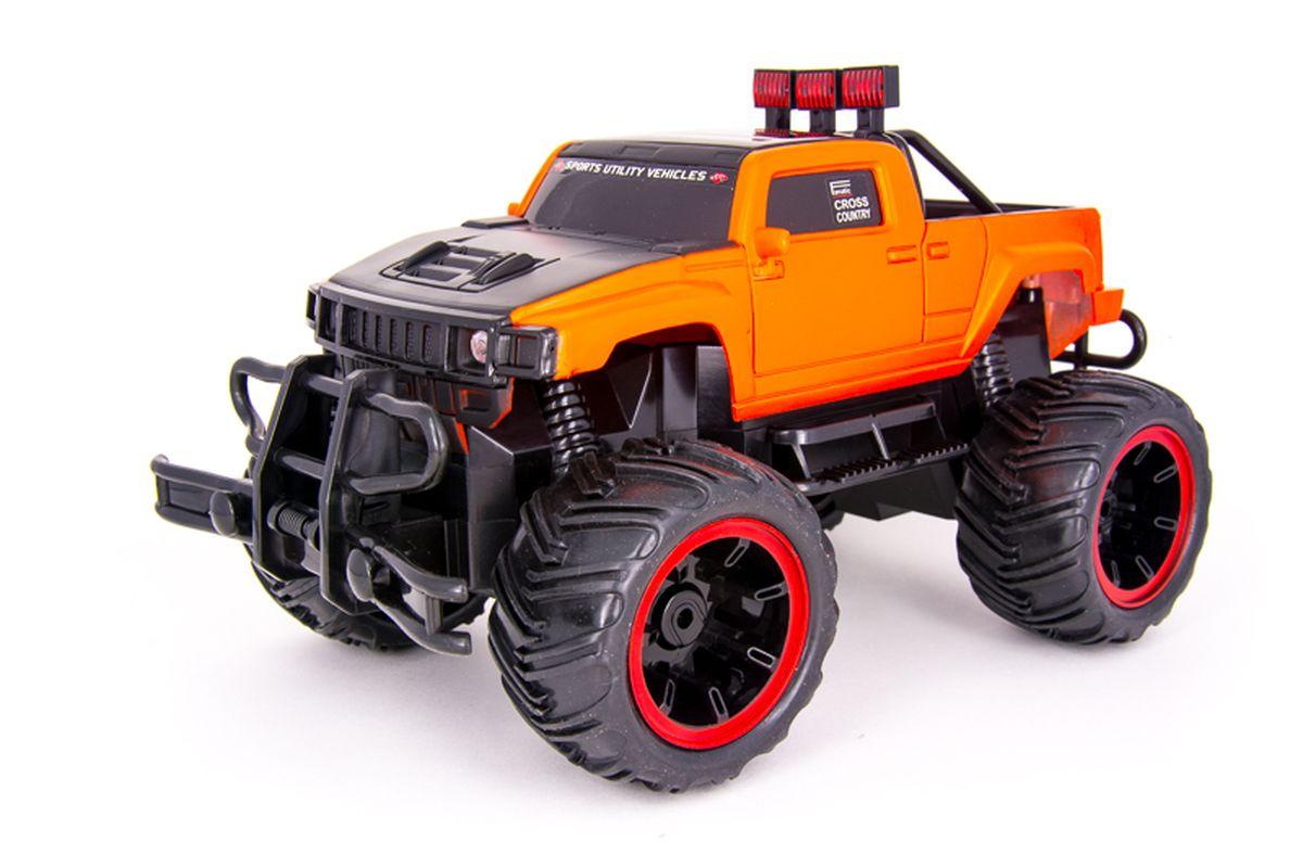 Pilotage Машина на радиоуправлении Внедорожник Off-Road Race Truck цвет оранжевый масштаб 1/16