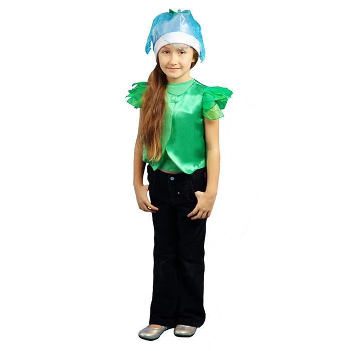 Карнавальный костюм для девочки Вестифика Колокольчик, цвет: зеленый, голубой. 102 012. Размер 104 -  Карнавальные костюмы и аксессуары