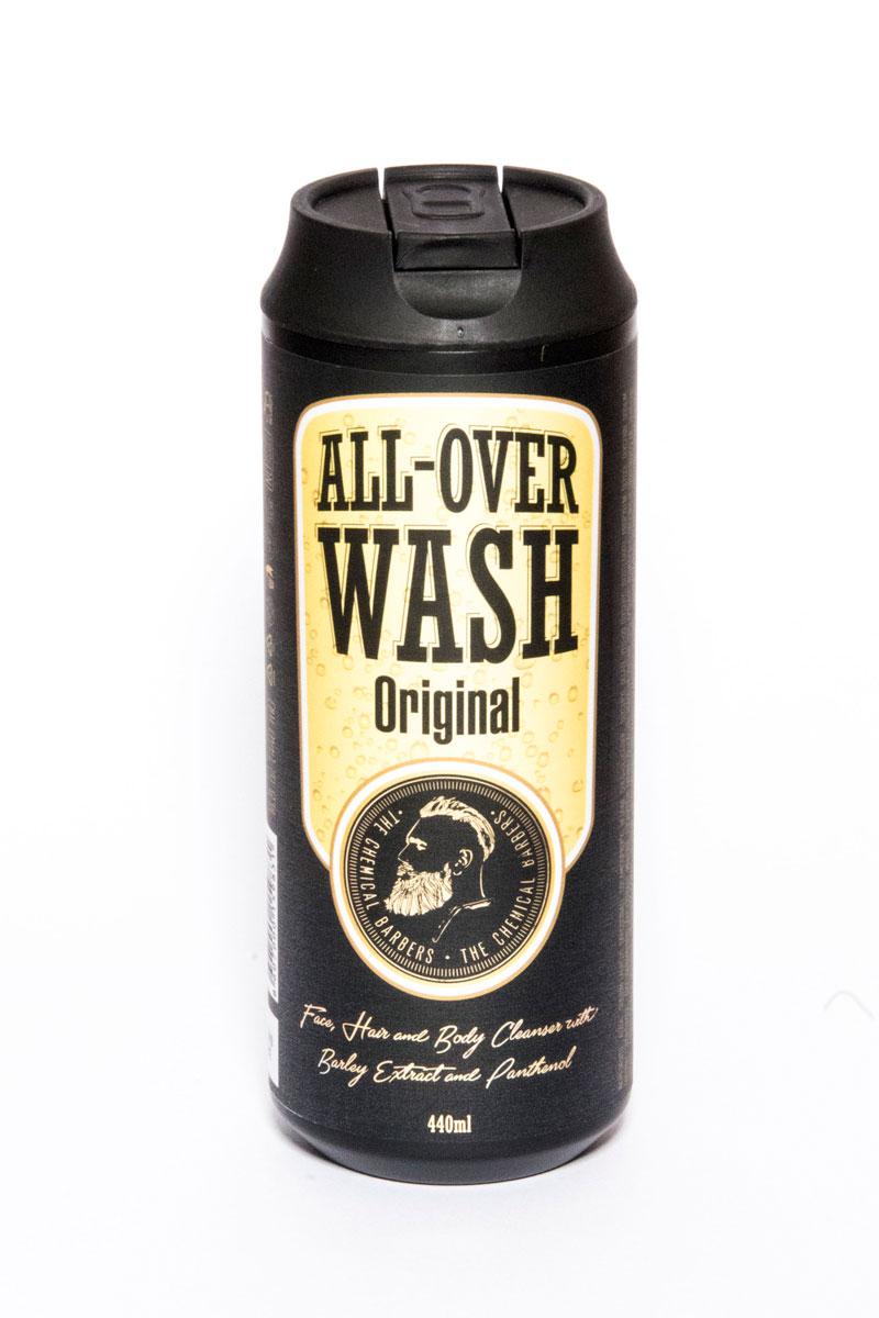 The Chemical Barbers Очищающее средство для лица, тела и волос All-Over Wash 440 млFS-00897Очищающее средство для лица, тела и волос содержит натуральные экстракты ячменя и боярышника, а также пантенол. Ph-сбалансированный гель мягко очищает вашу кожу и волосы. Натуральные экстракты тимьяна и хмеля омолаживают кожу, а мелисса и алое питают ее, оставляя приятный свежий аромат.