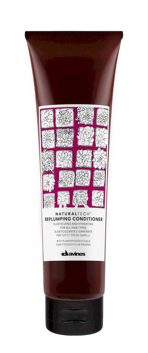 Davines Уплотняющий кондиционер New Natural Tech Replumping Conditioner, 150 млFS-00897Питающий и увлажняющий кондиционер. Придает волосам дополнительный объем, смягчает и увлажняет волосы. Закрывает чешуйки волос, что препятствует спутыванию и облегчает расчесывание. Фитоактивы сливы в составе защищают волосы на всех уровнях. Локоны становятся эластичными, блестящими и здоровыми. Антиоксиданты в составе препятствуют окислительным процессам, что сохраняет живость и подвижность волос.
