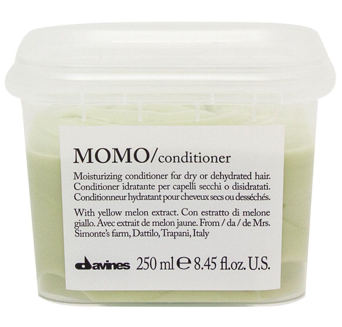 Davines Увлажняющий кондиционер, облегчающий расчесывание волос Essential Haircare New Momo Conditioner, 250 мл увлажняющий мусс davines more inside авторские продукты для стайлинга 250 мл
