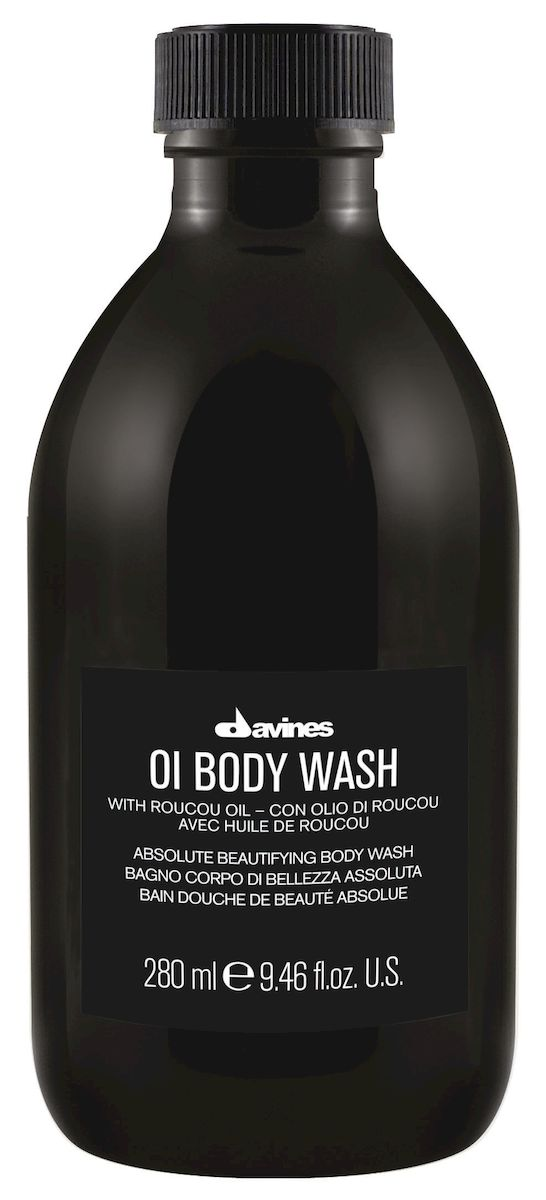 Davines Гель для душа для абсолютной красоты тела OI Body Wsh With Roucou Oil Absolute Beautifying Body Wash, 250 мл hempz гель для душа с ганатом pomegranate body wash 250 мл