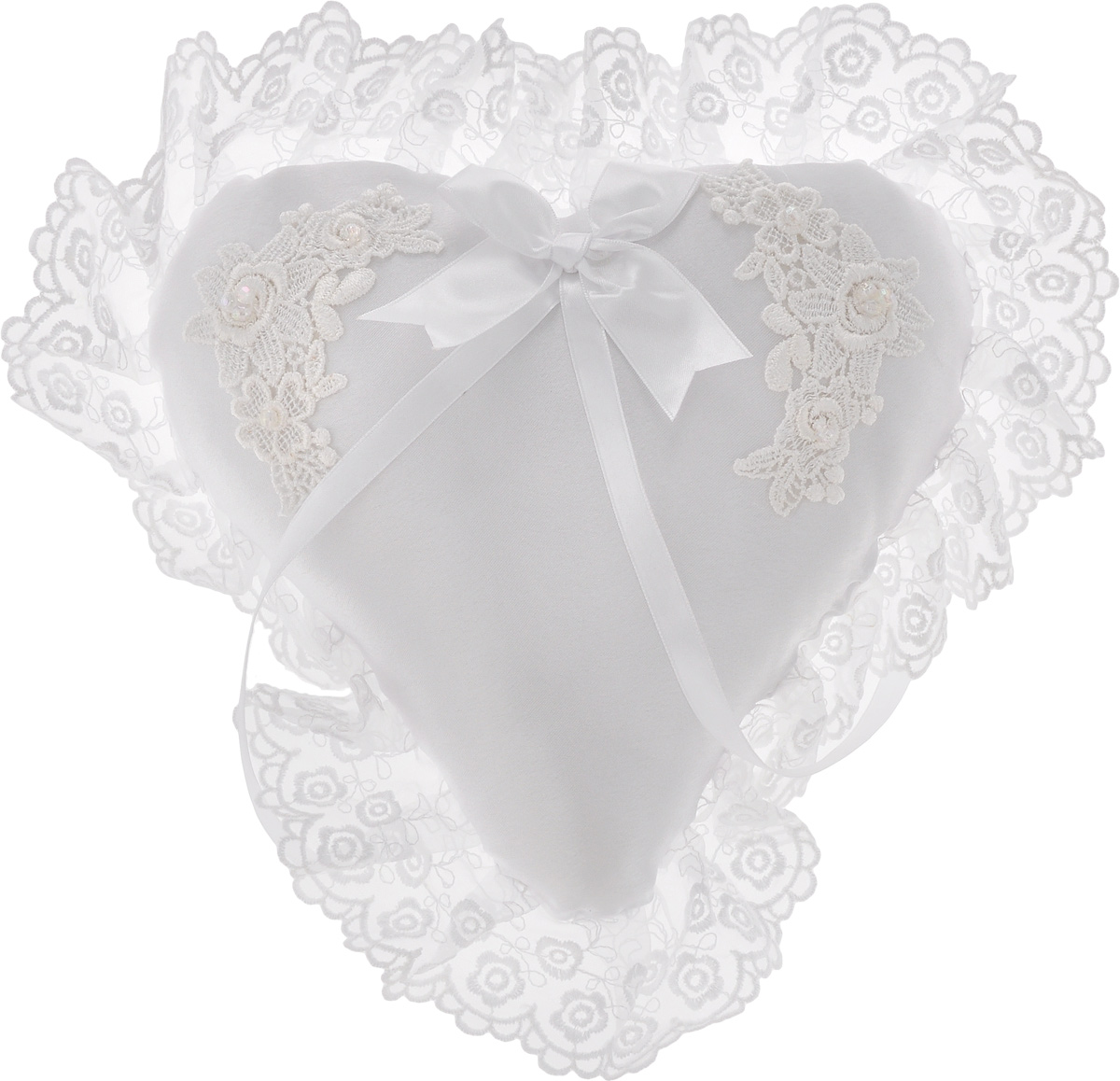Подушечка для колец Bianco Sole  Свадебная , 30 х 30 см