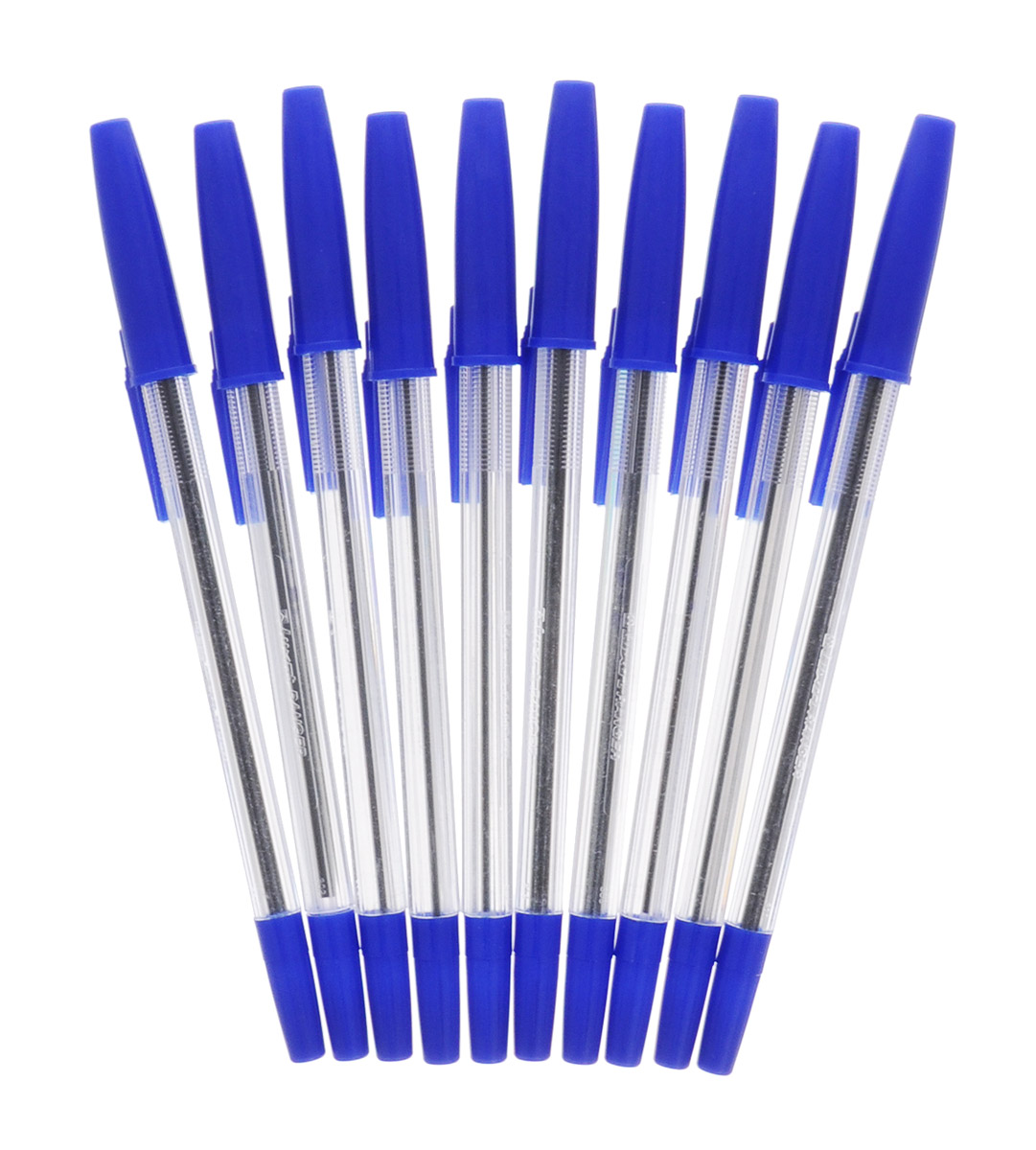 Luxor Набор шариковых ручек Ranger цвет чернил синий 10 шт0775B001Шариковые ручки из набора Luxor Ranger станут незаменимым атрибутом в учебе любого школьника и на работе.В наборе 10 шариковых ручек с колпачками, цвет чернил - синий.