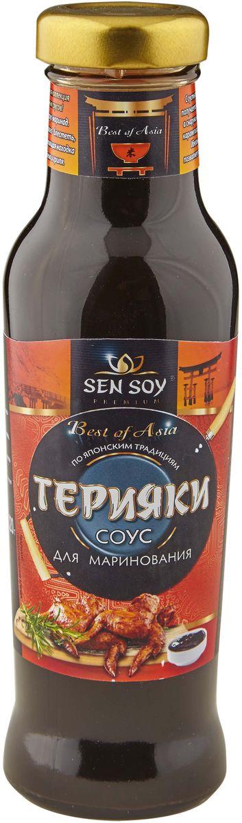 Sen Soy Соус столовый Терияки, 320 г рис sen soy для суши