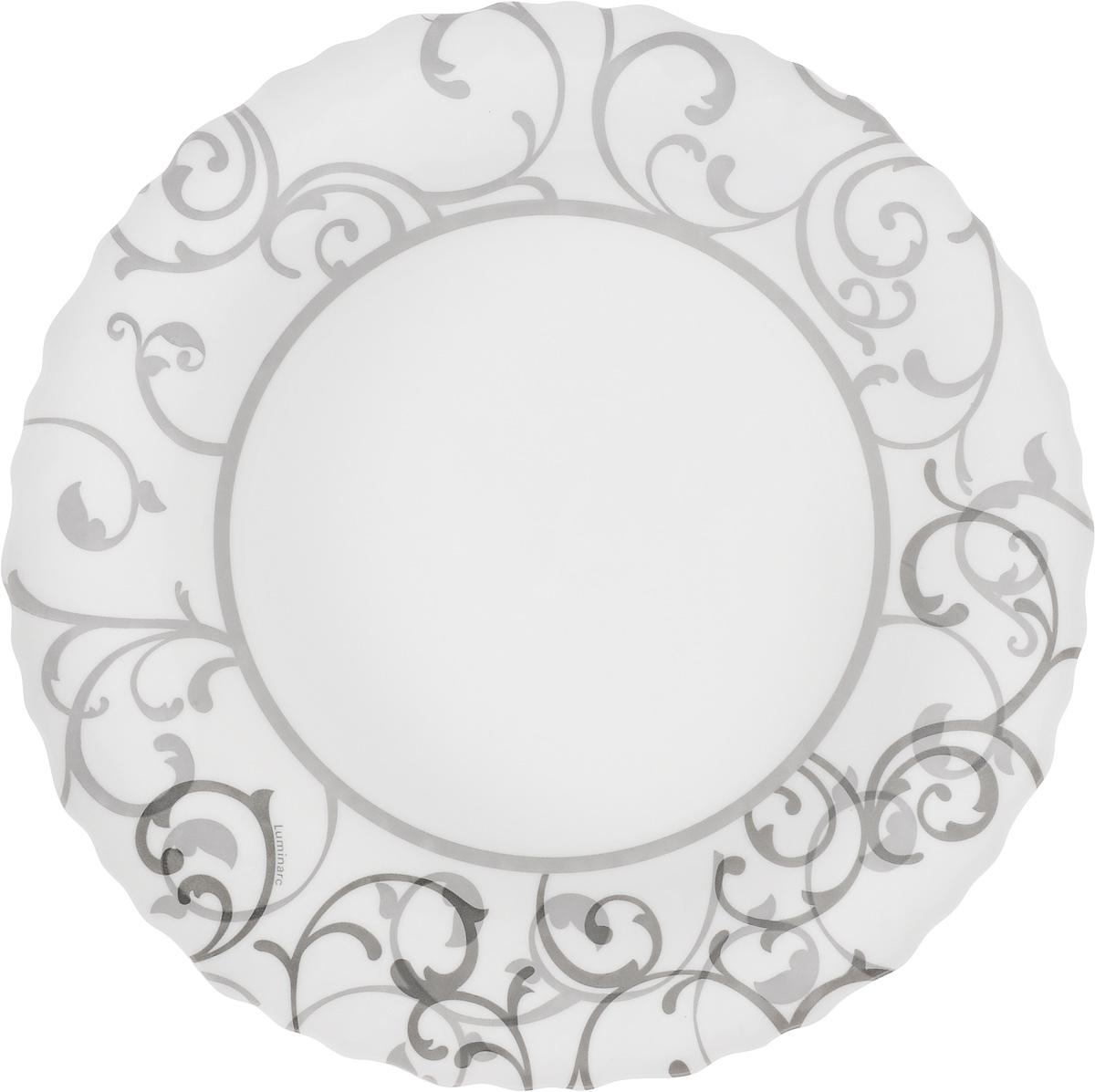 Тарелка десертная Luminarc Aliya, диаметр 19 см54 009312Тарелка десертная Luminarc Aliya изготовлена из ударопрочного стекла и декорирована красивым узором. Такая тарелка прекрасно подходит как для торжественных случаев, так и для повседневного использования. Идеальна для подачи десертов, пирожных, тортов и многого другого. Она прекрасно оформит стол и станет отличным дополнением к вашей коллекции кухонной посуды. Изделие можно мыть в посудомоечной машине, ставить в микроволновую печь и холодильник. Диаметр тарелки: 19 см.