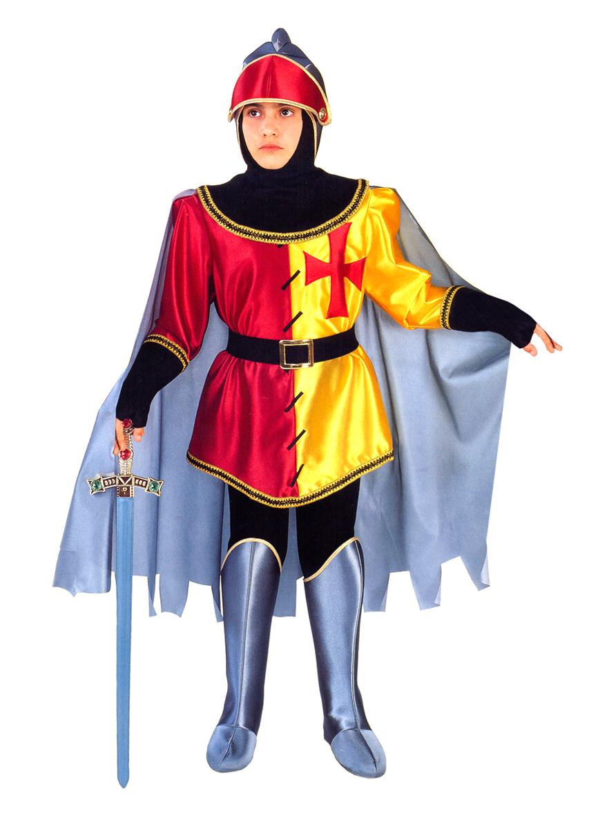 Rio Карнавальный костюм для мальчика Рыцарь цвет красный желтый размер 28 (3-4 года) - Карнавальные костюмы и аксессуары