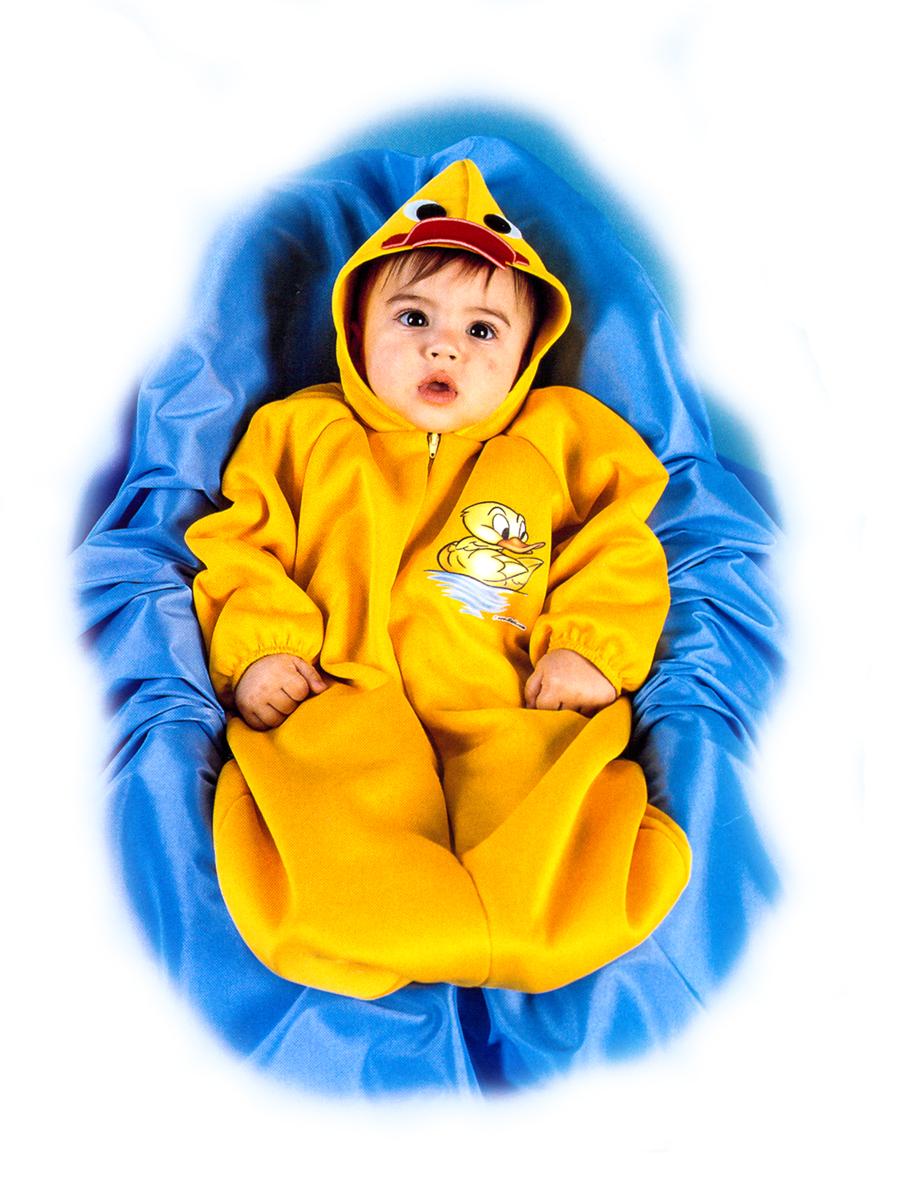 Rio Карнавальный костюм для девочки Утенок цвет желтый размер 24 (1-2 года) - Карнавальные костюмы и аксессуары