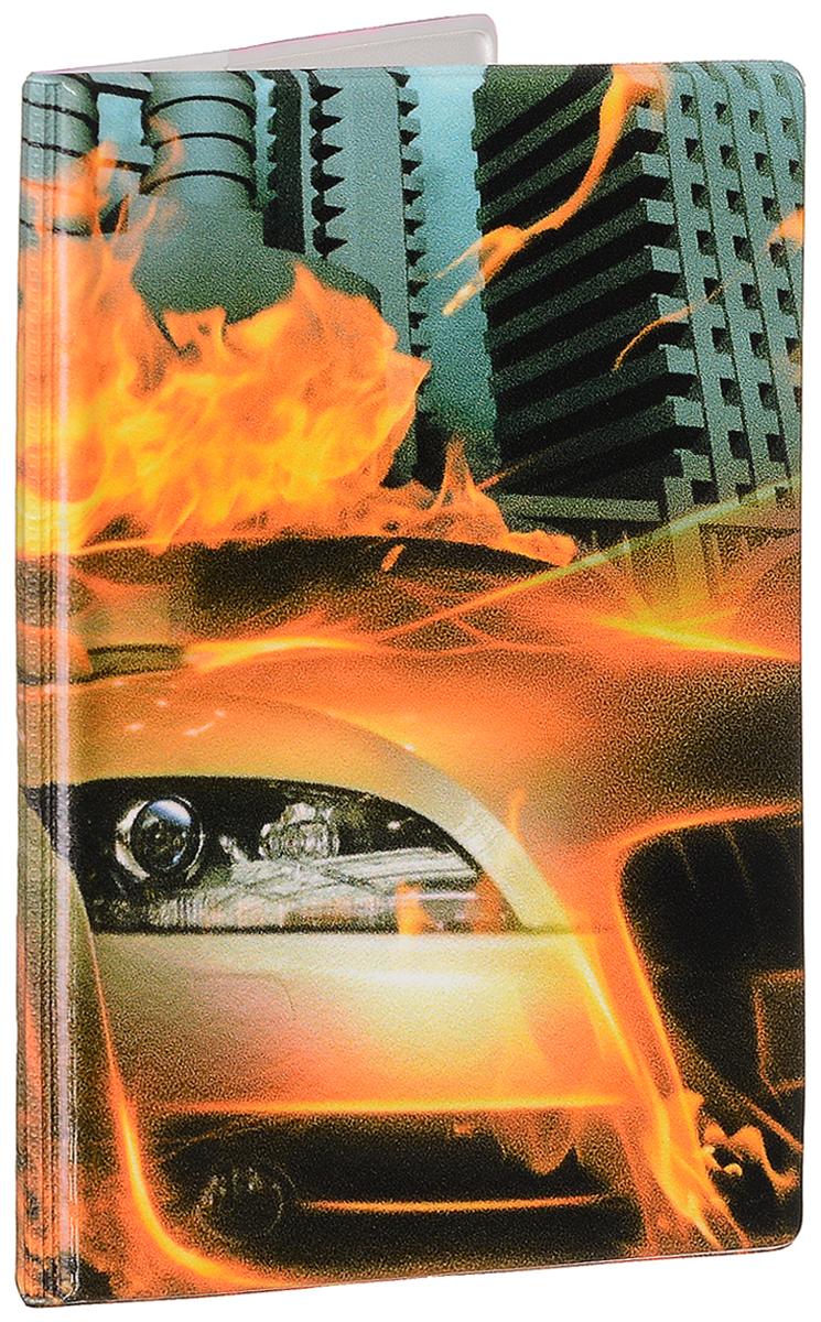 Обложка для паспорта мужская Эврика Огненная машина, цвет: оранжевый, серый. 9324793247Оригинальная обложка для паспорта Эврика понравится вам с первого взгляда. Она изготовлена из качественного ПВХ и оформлена оригинальным принтом. Внутри расположены прозрачные карманы для фиксации паспорта.Такая обложка не только поможет сохранить внешний вид вашего паспорта и защитить его от повреждений, но и станет стильным аксессуаром.