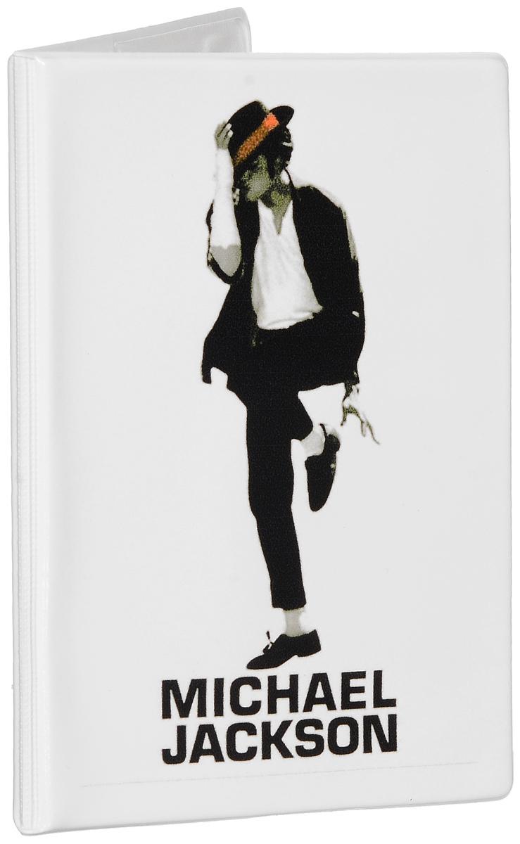 Обложка для паспорта Эврика Майкл Джексон, цвет: белый, черный. 9250592505Оригинальная обложка для паспорта Эврика понравится вам с первого взгляда. Она изготовлена из качественного ПВХ и оформлена оригинальным принтом. Внутри расположены прозрачные карманы для фиксации паспорта.Такая обложка не только поможет сохранить внешний вид вашего паспорта и защитить его от повреждений, но и станет стильным аксессуаром.