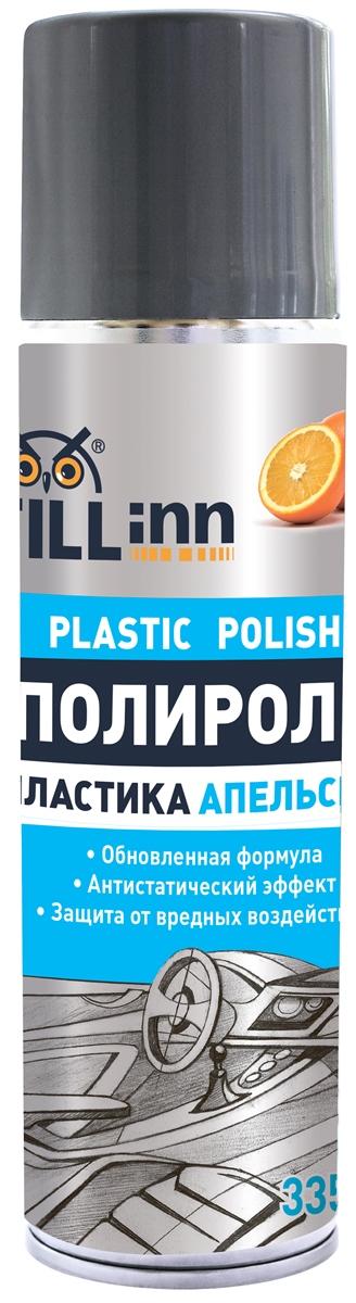 Полироль пластика Fill Inn, аэрозоль, апельсин, 335 мл98298130Мягко и бережно очищает, придает обновленный вид приборной панели и пластиковым деталям автомобиля. Благодаря наличию смеси натуральных и синтетических восков, восстанавливает глянец пластиковых поверхностей. Создает защитный слой. Предохраняет пластиковые детали от выцветания, царапин и сухости. Обладает антистатическим эффектом, предотвращает оседание пыли на поверхности. Имеет устойчивый приятный аромат. Подходит для использования в быту: для обработки сумок, чемоданов, акриловых и пластиковых покрытий.