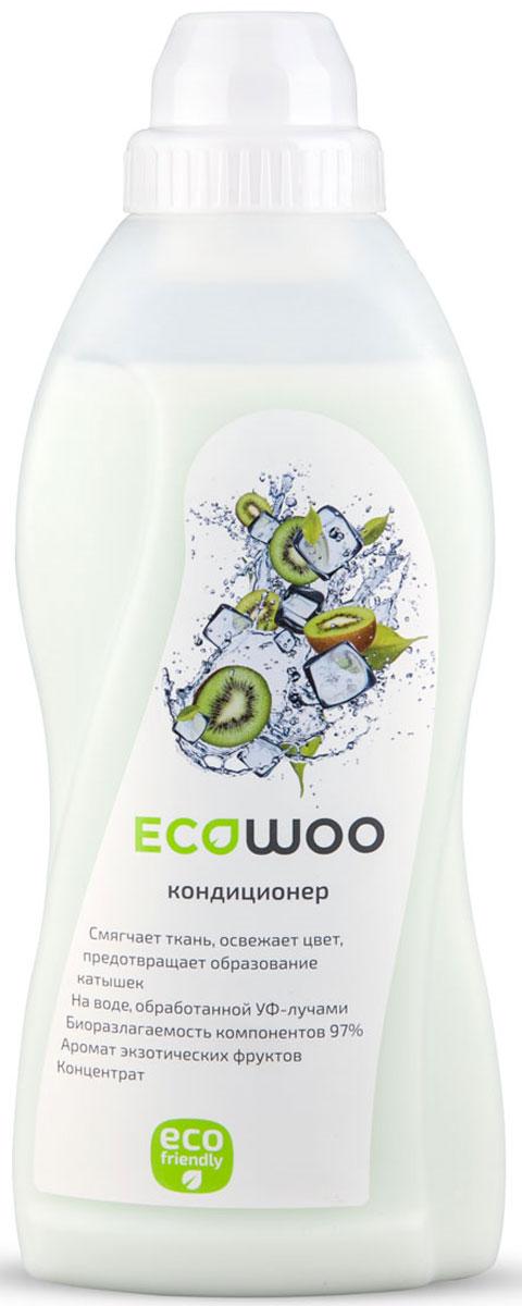 Кондиционер-ополаскиватель для белья EcoWoo Экзотические фрукты, концентрат, 700 мл531-402Кондиционер-ополаскиватель EcoWoo Экзотические фрукты ухаживает за всеми типами ткани. Средство смягчает ткань, освежает цвет, предотвращает образование катышек. Кондиционер-ополаскиватель изготовлен на воде двойной очистки, не содержит агрессивных веществ. Биоразлагаемость компонентов 97%. Состав: специально подготовленная умягченная вода, КПАВ 5-15%, ароматизатор, консервант, функциональные добавки, краситель.Товар сертифицирован.