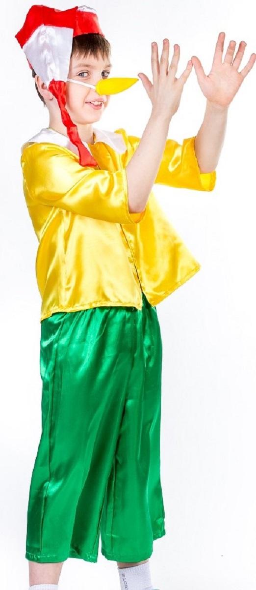 Карнавалия Карнавальный костюм для мальчика Буратино размер 122