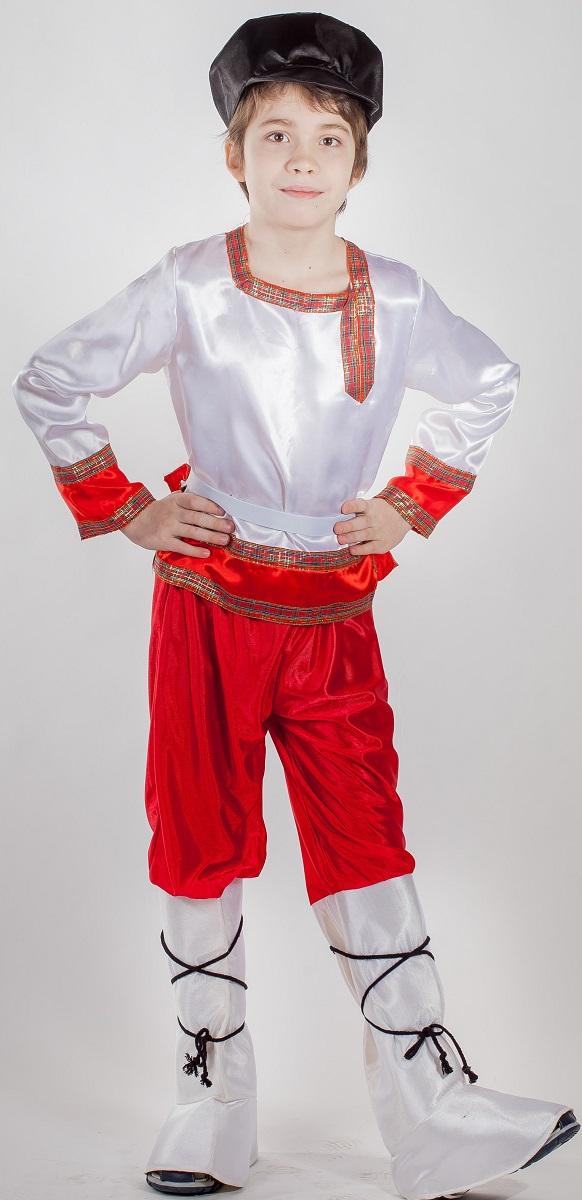 Карнавалия Карнавальный костюм для мальчика Иванушка размер 122 - Карнавальные костюмы и аксессуары