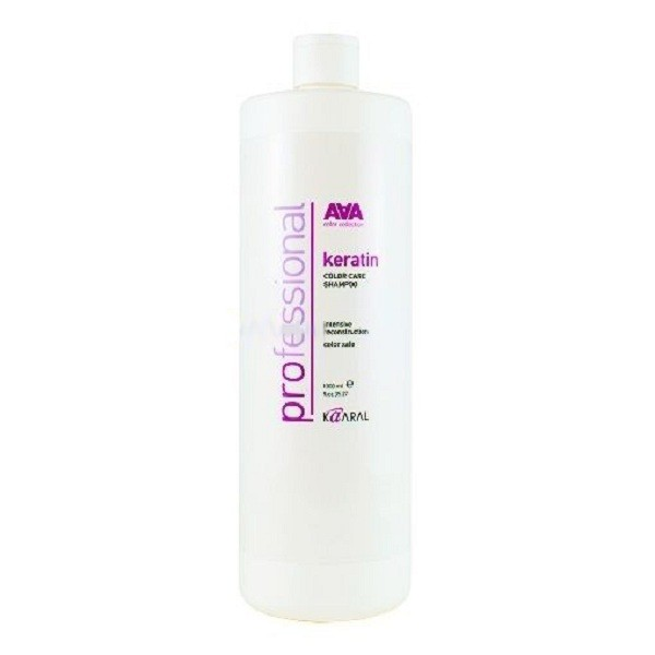 Kaaral Кератиновый шампунь для окрашенных и химически обработанных волос AAA Keratin Color Care Shampoo, 1000 млFS-00897Инновационный продукт для ухода за окрашенными и химически обработанными волосами. Состав шампуня обогащен натуральным гидролизованным кератином, что позволяет бережно очищать и ухаживать за сухими, пористыми и поврежденными волосами, возвращая им утраченный блеск и эластичность. Нежная формула шампуня обеспечивает интенсивное увлажнение. Натуральный гидролизованный кератин интенсивно восстанавливает поврежденную структуру волоса как на поверхности, так и в самых глубоких слоях кортекса. Слабокислый уровень pH бережно закрывает кутикулу, предотвращая вымывание цветовых пигментов, что позволяет надолго сохранить блеск и яркость окрашенных волос. Подходит для ежедневного ухода за окрашенными и химически обработанными волосами. Идеально применять в комплексе с Keratin Color Care Conditioner.