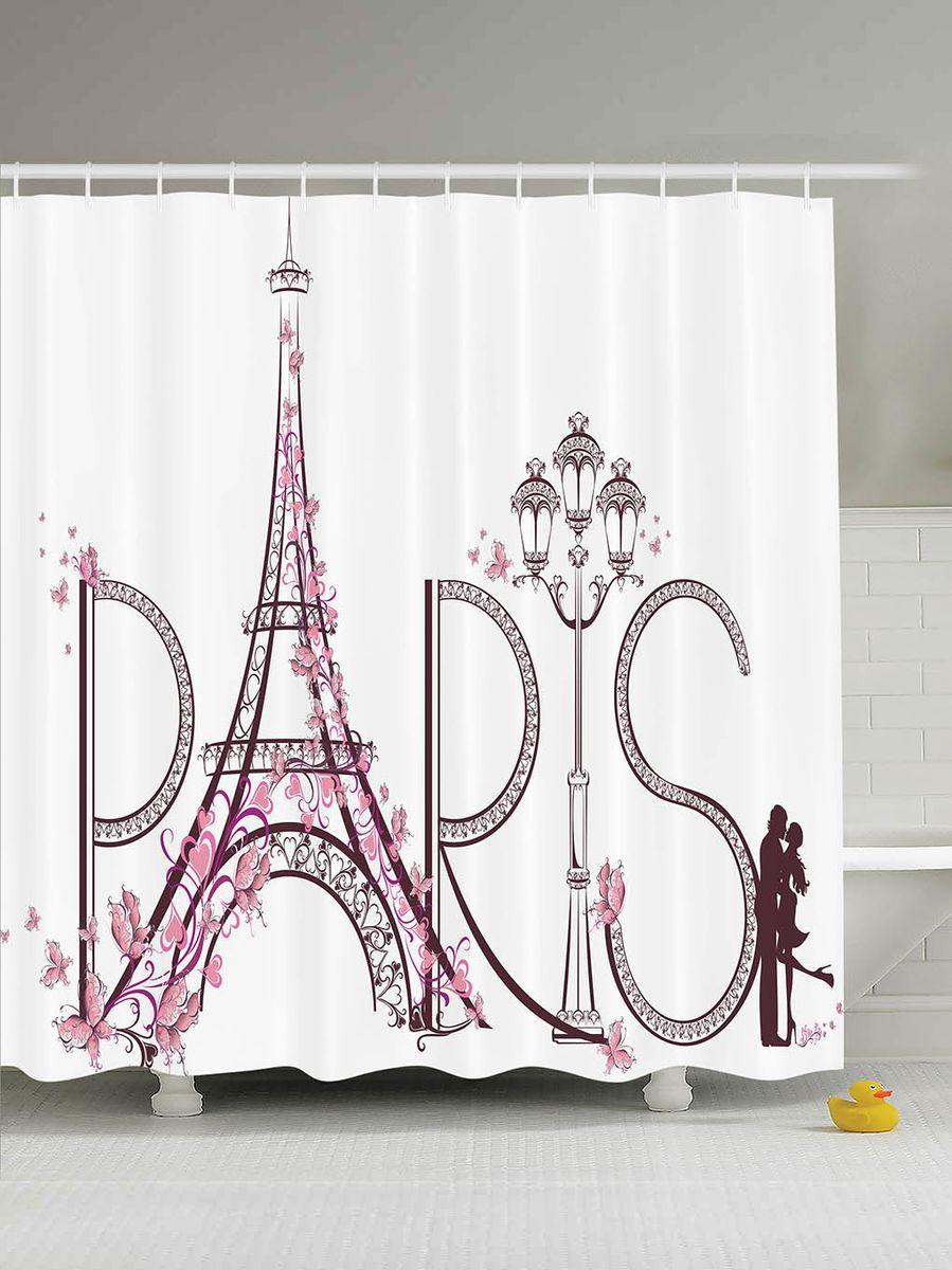Штора для ванной комнаты Magic Lady Paris is love, 180 х 200 см49300Штора Magic Lady Paris is love, изготовленная из высококачественного сатена (полиэстер 100%), отлично дополнит любой интерьер ванной комнаты. При изготовлении используются специальные гипоаллергенные чернила для прямой печати по ткани, безопасные для человека.В комплекте: 1 штора, 12 крючков. Обращаем ваше внимание, фактический цвет изделия может незначительно отличаться от представленного на фото.