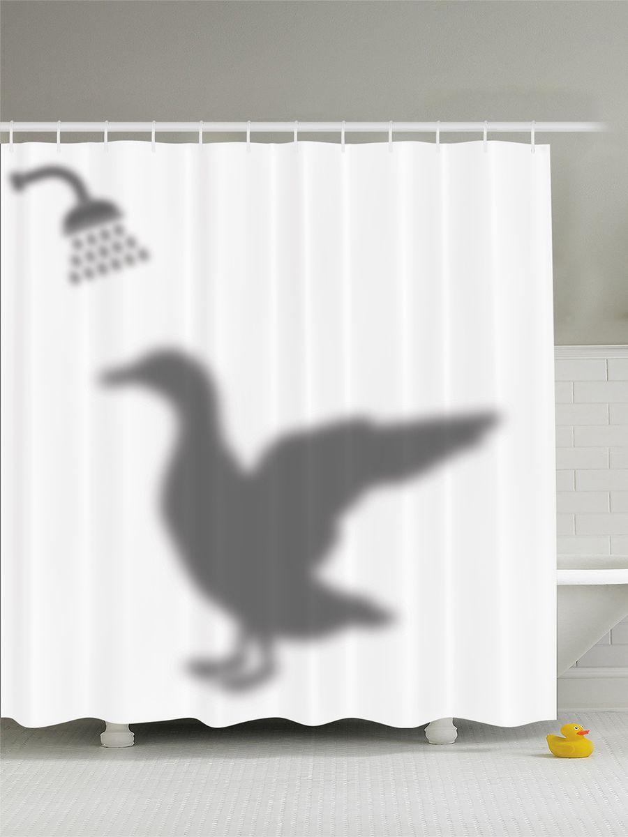 Штора для ванной комнаты Magic Lady Утка принимает душ, 180 х 200 смSWRD-9002Штора Magic Lady Утка принимает душ, изготовленная из высококачественного сатена (полиэстер 100%), отлично дополнит любой интерьер ванной комнаты. При изготовлении используются специальные гипоаллергенные чернила для прямой печати по ткани, безопасные для человека.В комплекте: 1 штора, 12 крючков. Обращаем ваше внимание, фактический цвет изделия может незначительно отличаться от представленного на фото.