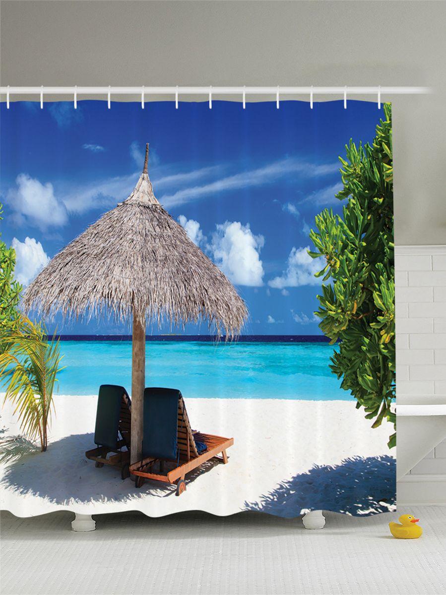 Штора для ванной комнаты Magic Lady Жаркое солнце, 180 х 200 смшв_8366Штора Magic Lady Жаркое солнце, изготовленная из высококачественного сатена (полиэстер 100%), отлично дополнит любой интерьер ванной комнаты. При изготовлении используются специальные гипоаллергенные чернила для прямой печати по ткани, безопасные для человека.В комплекте: 1 штора, 12 крючков. Обращаем ваше внимание, фактический цвет изделия может незначительно отличаться от представленного на фото.