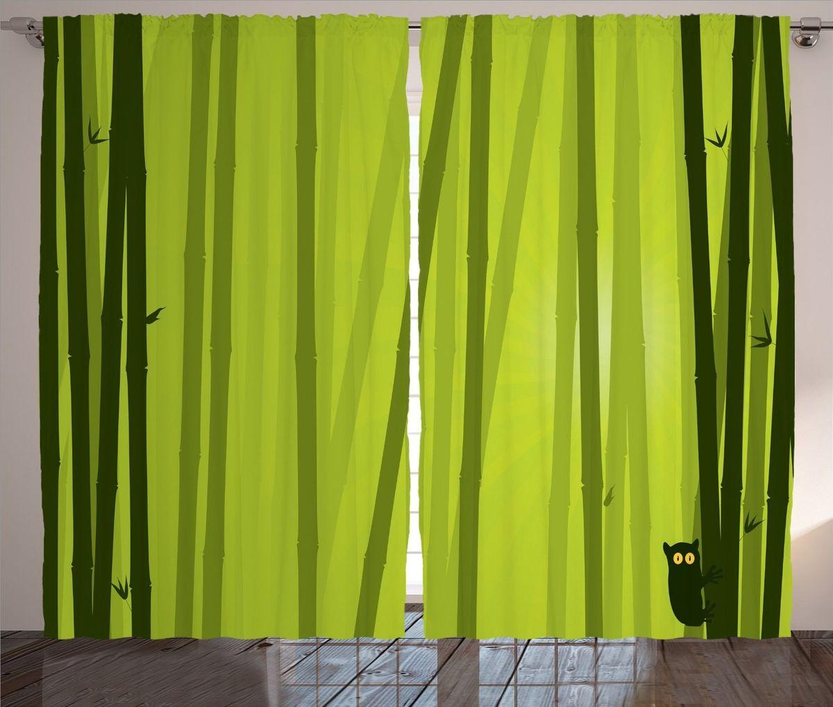 Комплект фотоштор Magic Lady Лемур на стеблях бамбука, на ленте, 290 х 265 смKGB GX-3Компания Сэмболь изготавливает шторы из высококачественного сатена (полиэстер 100%). При изготовлении используются специальные гипоаллергенные чернила для прямой печати по ткани, безопасные для человека и животных. Экологичность продукции Magic lady и безопасность для окружающей среды подтверждены сертификатом Oeko-Tex Standard 100. Крепление: крючки для крепления на шторной ленте (50 шт.). Возможно крепление на трубу. Внимание! При нанесении сублимационной печати на ткань технологическим методом при температуре 240 С, возможно отклонение полученных размеров (указанных на этикетке и сайте) от стандартных на + - 3-5 см. Мы стараемся максимально точно передать цвета изделия на наших фотографиях, однако искажения неизбежны и фактический цвет изделия может отличаться от воспринимаемого по фото. Обратите внимание! Шторы изготовлены из полиэстра сатенового переплетения, а не из сатина (хлопок). Размер одного полотна шторы: 145*265 см. В комплекте 2 полотна шторы и 50 крючков.