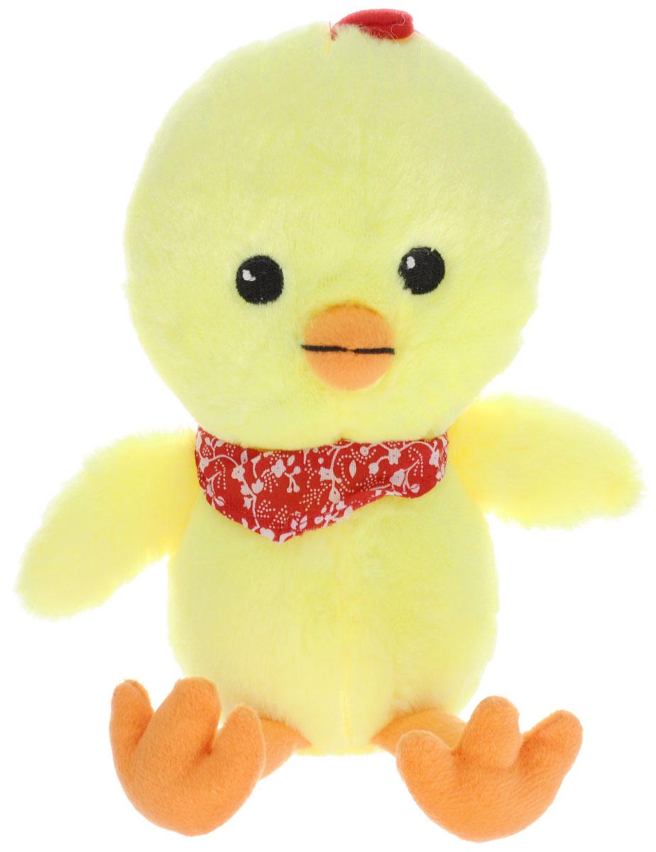 Gulliver Мягкая игрушка Цыпленок Цыпа в бандане 20 см gulliver мягкая игрушка цыпленок цыпа в нагруднике 20 см