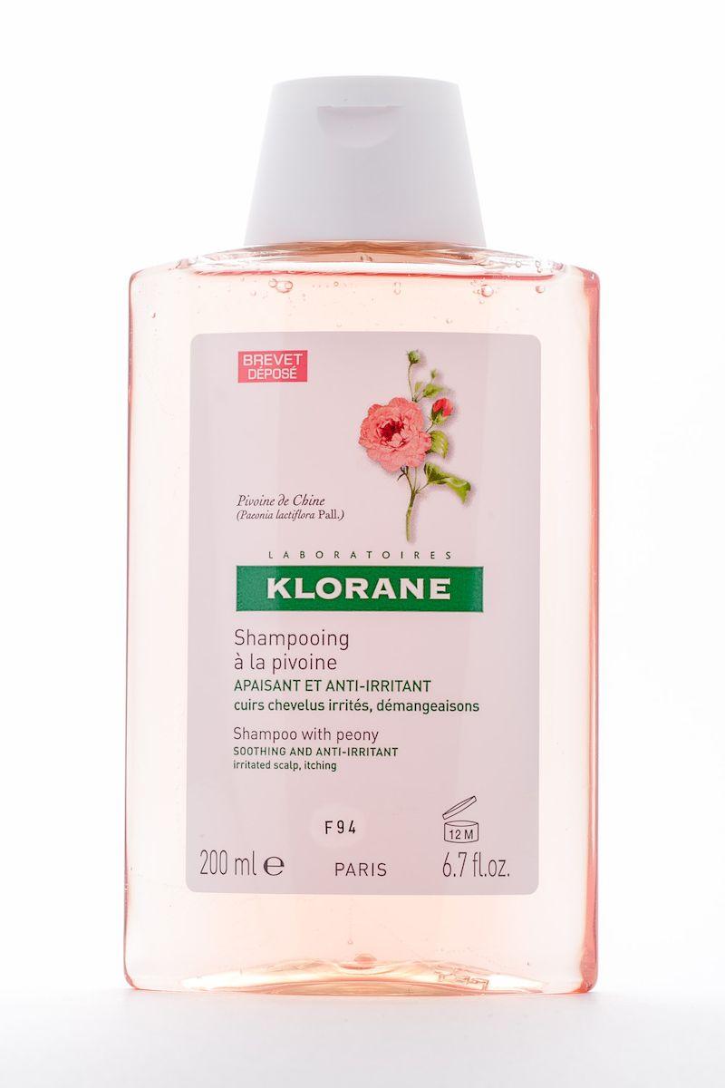 Klorane Irritated Scalp Шампунь с экстрактом пиона, успокаивающий, 200 млAC-2233_серыйМягко очищает чувствительную кожу головы. Облегчает расчесывание, придает волосам объем и блеск. Успокаивает раздражение и зуд, сопровождающие перхоть. Рекомендуется чередовать с лечебными шампунями от перхоти.