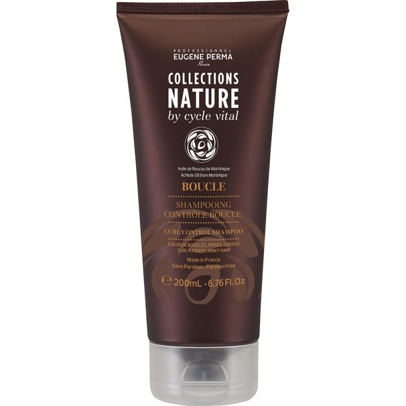 Eugene Perma Cycle Vital Nature Shampooing Controle Boucle - Шампунь для вьющихся волос 250 млMP59.4DОбеспечивает мягкость и эластичность. Придает блеск и облегчает укладку.