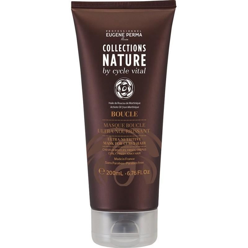 Eugene Perma Cycle Vital Nature Masque Boucle Ultra Nourrissant - Маска ультра-питательная для вьющихся волос 200 млMP59.4DИнтенсивно питает волосы. Разглаживает кутикулу. Придает мягкость и блеск.