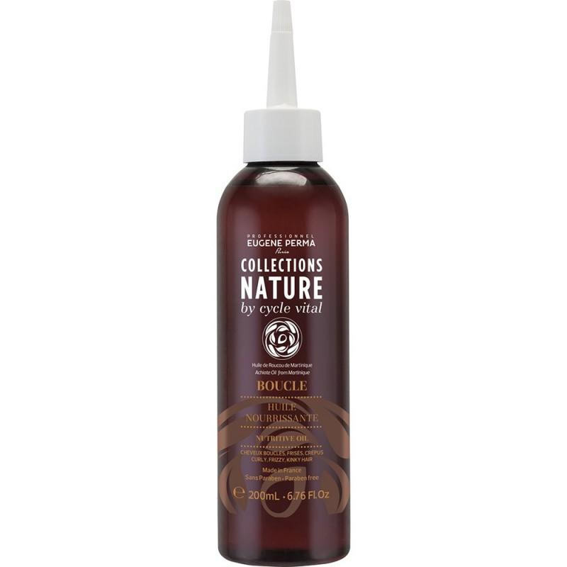 Eugene Perma Cycle Vital Nature HuИзраильe Nourrissante - Масло для волос питательное 200 мл75004Питает и смягчает волосы. Придает шелковистость и блеск.