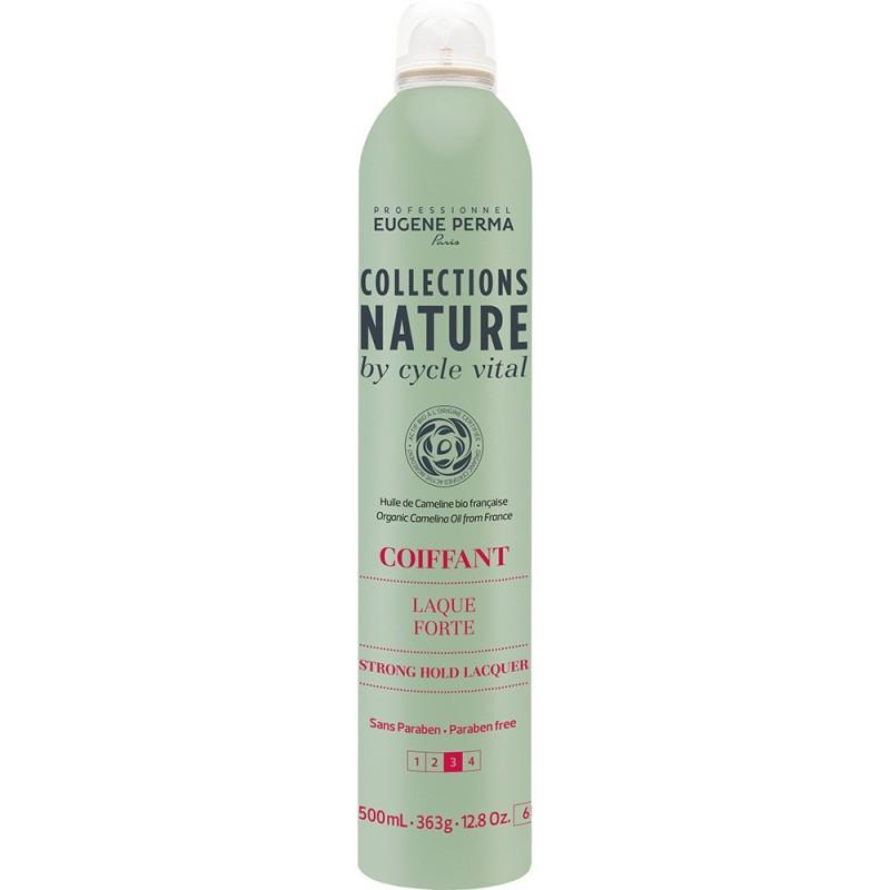 Eugene Perma Cycle Vital Nature Laque Forte - Лак для сильной фиксации волос 500 млSatin Hair 7 BR730MNПодходит для создания причесок любой сложности. Обеспечивает надежную фиксацию. Легко удаляется при расчесывании. Придает великолепный блеск. Защищает волосы от воздействия влаги. Фактор фиксации: 3 из 4