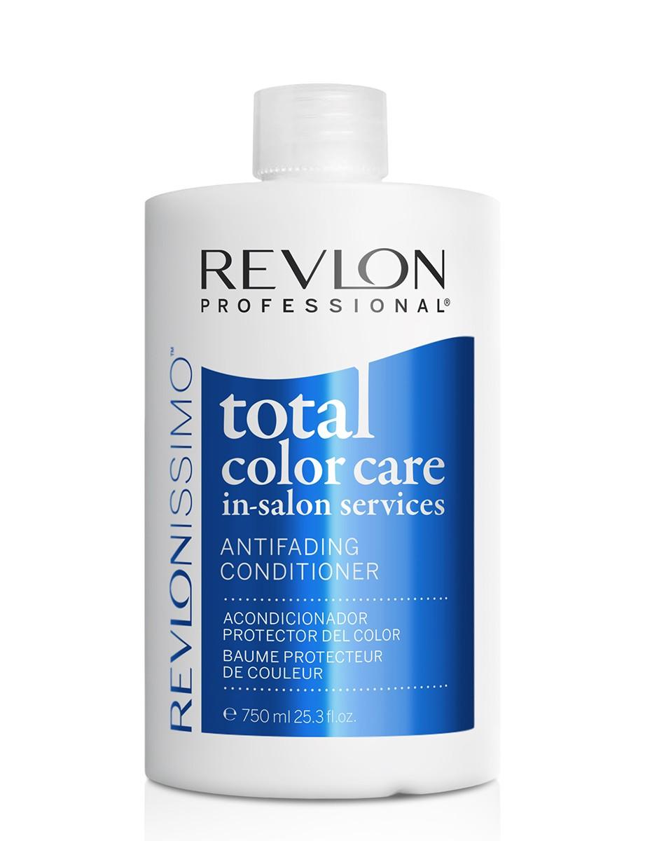 Revlon Professional Revlonissimo Total Color Care Conditioner - Кондиционер анти-вымывание цвета без сульфатов 750 млMP59.4DРазработан специально для защиты окрашенных волос от воздействия агрессивных факторов окружающей среды, способствующих вымыванию цвета. Его мягкая формула придает волосам увлажнение, питание и блеск. Защита от вымывания - содержит пленкообразующий полимер, который защищает окрашенные волосы от потери и вымывания пигмента красителя. Антиоксидантный эффект - клюква содержит антиоксиданты, которые помогают блокировать действие свободных радикалов и предотвратить окисление пигментов после процедуры окрашивания. Уход и восстановление - провитамин В5 укрепляет структуру волосяного волокна и увлажняет волосы. Придает волосам эластичность, предотвращает ломкость, которая может произойти при расчесывании волос.