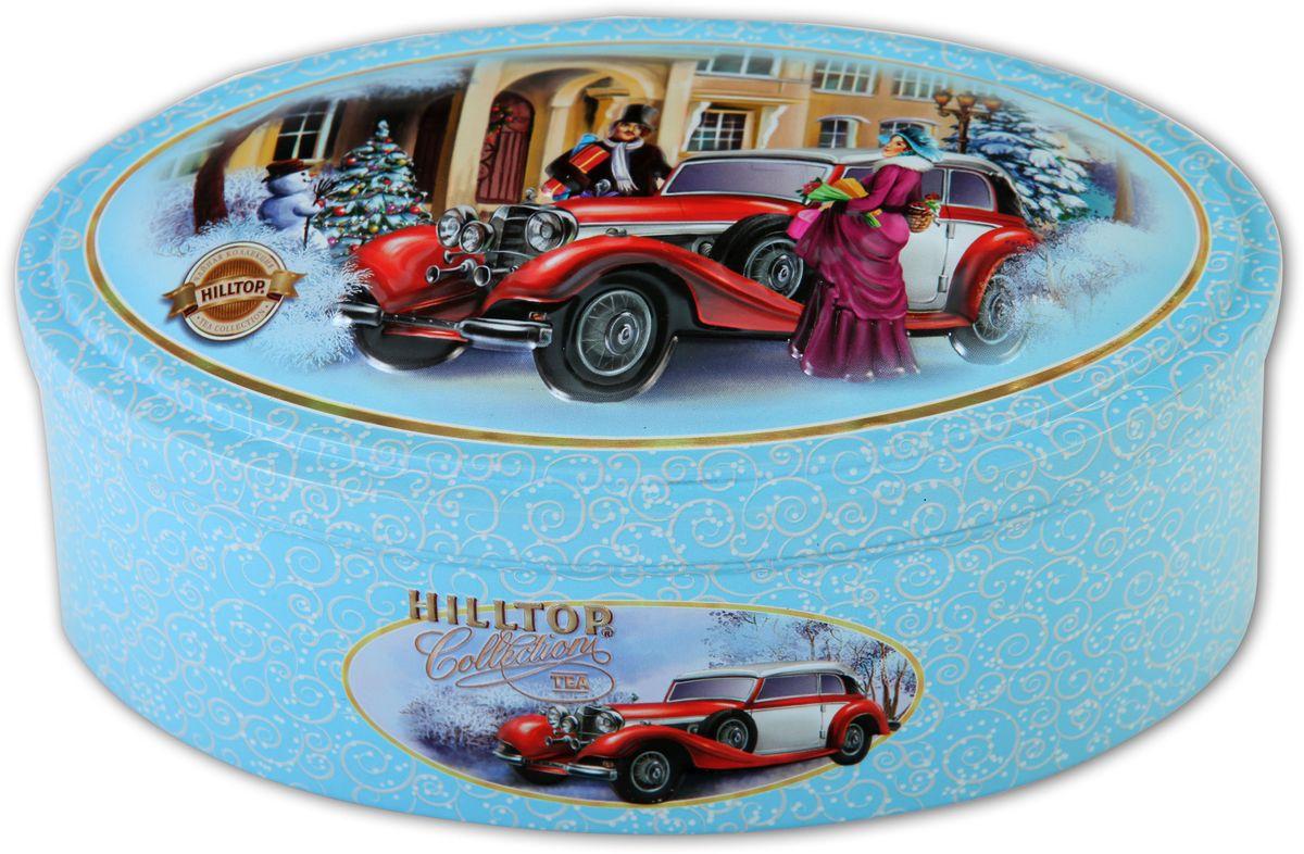 Hilltop Эрл Грей. Ретро-автомобиль чай черный листовой, 100 г0120710Чай Эрл Грей. Ретро-автомобиль - черный крупнолистовой чай с цедрой апельсина и ароматом бергамота.В лучших традициях Англии.