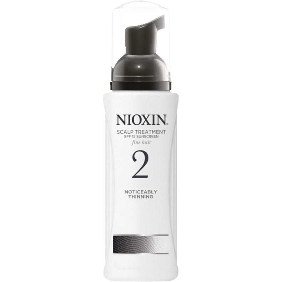 Nioxin Scalp Treatment System 2 - Питательная маска (Система 2) 200 млFS-00897Тонкие волосы являются существенной помехой на пути к красивой и пышной прическе. Питательная маска от Ниоксин Система 2 придает волосам силу и энергию и защищает кожу головы от внешнего влияния. Средство содержит мощный питательный комплекс, который придает волосам блеск и наполняет их энергией. Питательная маска от Nioxin может вызывать незначительное покраснение кожи головы после применения, однако этот эффект быстр проходит.