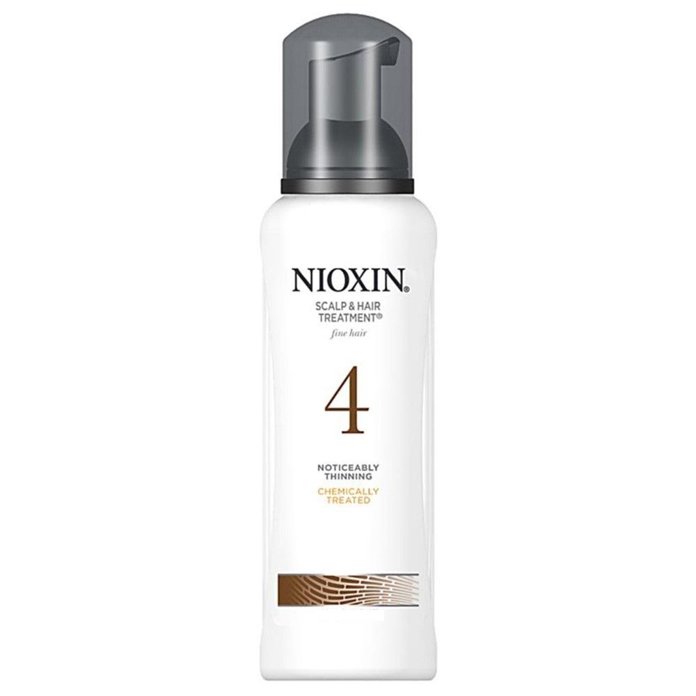 Nioxin Scalp Treatment System 4 - Питательная маска (Система 4) 200 млMP59.4DПитательная маска от Nioxin Система 4 предназначена для редеющих волос, которые поддались химической обработке. Средство глубоко и интенсивно питает волосы и кожу головы, насыщая их полезными веществами. Также маска от Ниоксин защищает волосы от негативного воздействия внешней среды.После применения питательной маски от Nioxin волосы становятся эластичными и шелковистыми, они блестят и выглядят здоровыми и красивыми.
