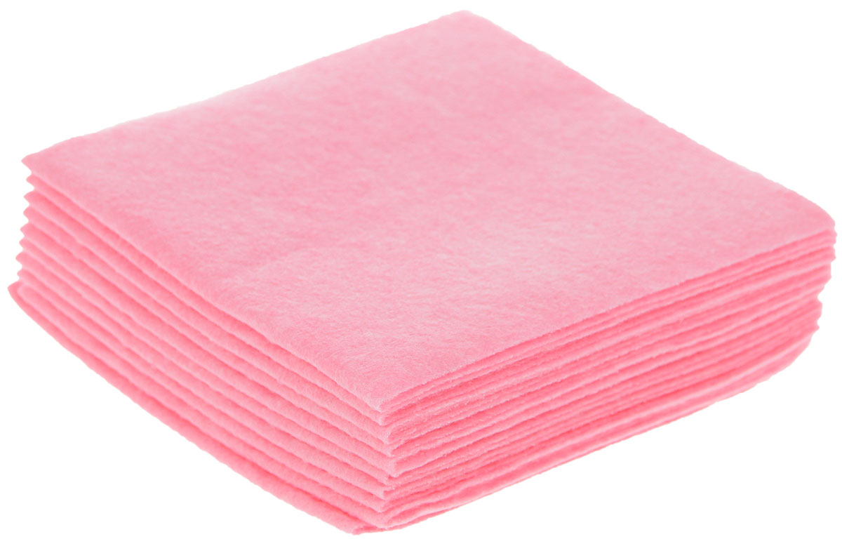 Салфетка для уборки Чистюля Маленькая кухня, цвет: розовый, 25 х 25 см, 10 шт16403150Салфетки для уборки Чистюля Маленькая кухня, изготовленные из вискозы с добавлением полиэстера, предназначены для мытья любых поверхностей в доме: кухонные столы, плиты, сантехника, кафель, посуда, мебель из любых материалов, бытовая техника. Салфетки отлично очищают любые поверхности, впитывая влагу вместе с грязью, не оставляют ворсинок и разводов. Отстирываются при температуре до +70°С.