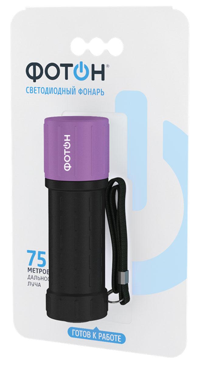 Фонарь резино-пластиковый Фотон MR-800 (3хААА)/ассортиKOCAc6009LEDМатериал корпуса - резинопластик Источник света – 1W светодиод Питание - 3хLR03 (AAA), контейне Выключатель - кнопочный, торцевой, резиновая кнопка