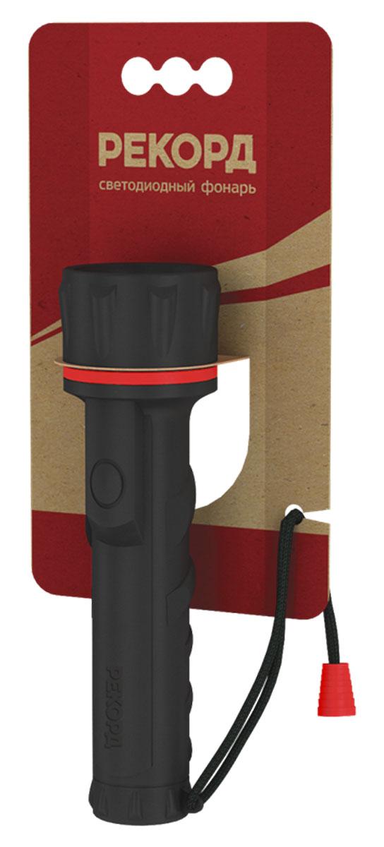 Фонарь Рекорд ММ-0203 (2хR6) (3 светодиода)KOCAc6009LEDМатериал корпуса - резина Источник света - 3 светодиода Straw-Hat Питание - 2хLR6 (АА) Выключатель - кнопочный, боковой, герметичный