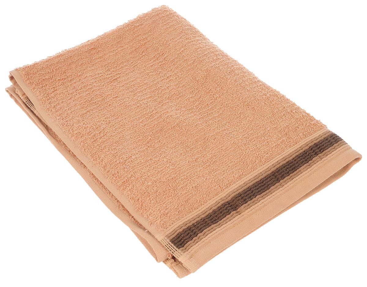 Полотенце Arya Ceyda, цвет: коричневый, медный, 50 х 90 см531-105Полотенце Arya Ceyda выполнено из 100% хлопка. Изделие отлично впитывает влагу, быстро сохнет, сохраняет яркость цвета и не теряет форму даже после многократных стирок. Такое полотенце очень практично и неприхотливо в уходе. Оно создаст прекрасное настроение и украсит интерьер в ванной комнате.